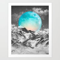 cosmic Art Prints featuring It Seemed To Chase the Darkness Away by soaring anchor designs