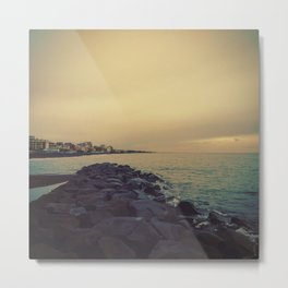 Cold Beach Metal Print
