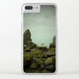 The Haystack's Sentinels Clear iPhone Case