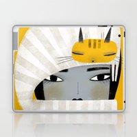 HAT SCARF COMBO Laptop & iPad Skin