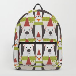Penguins & Polar Bears (Patterns Please) Backpack