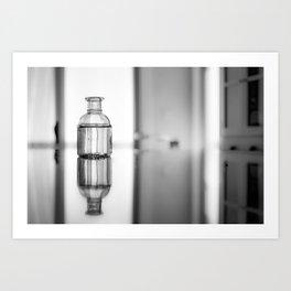 Countertop reflection Art Print