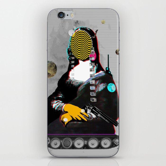 Mona Lisa StreetPopArt - Demon´s Night II iPhone Skin