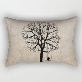 if my memory serves me right  Rectangular Pillow