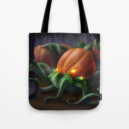 Pumpkin Octopus Tote Bag