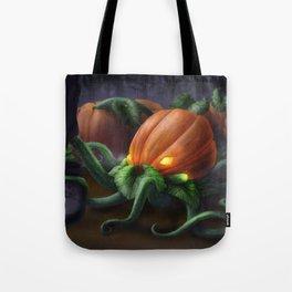 Pumpkin Octopus Tote Bag