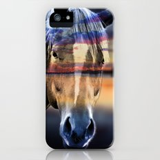 horse iPhone (5, 5s) Slim Case