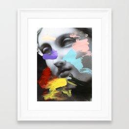 Composition 458 Framed Art Print