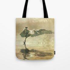 Spoonbill morning Tote Bag
