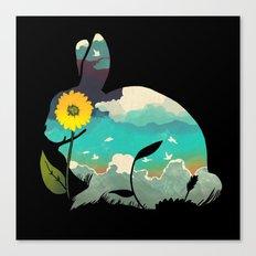 Rabbit Sky Canvas Print