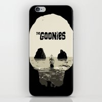 the goonies iPhone & iPod Skins featuring THE GOONIES by Rocky Rock
