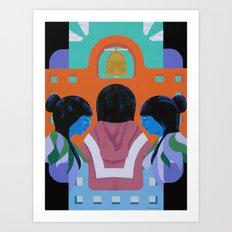 A Mission Art Print