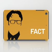 dwight schrute iPad Cases featuring Dwight Schrute by Stacia Elizabeth