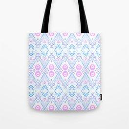 Ikat Java Pink Tote Bag