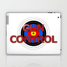 Target Gun Control Laptop & iPad Skin
