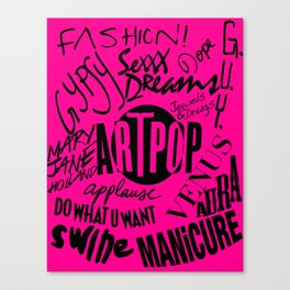 ART POPFEST! Canvas Print
