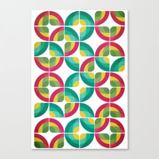 Passion Fruit Pattern Canvas Print