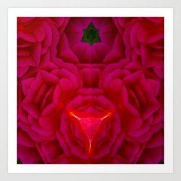 Emerald Star Art Print