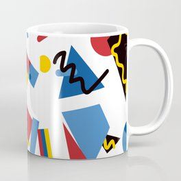 Postmodern Primary Color Party Decorations Coffee Mug