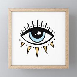 Eye Framed Mini Art Print