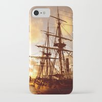 pirate ship iPhone & iPod Cases featuring PIRATE SHIP :) by Teresa Chipperfield Studios