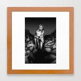 Silence of the Lambs Framed Art Print