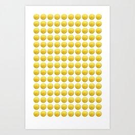 Mario Coins x150 Art Print