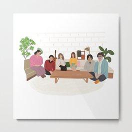 Terrace House Metal Print