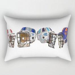 old skool acc lax Rectangular Pillow