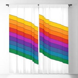 Dream Machine Stripes Blackout Curtain