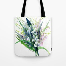 Lilies of the Valley Tote Bag