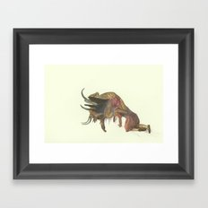 It cold be contagious, It could turn into an epidemic Framed Art Print
