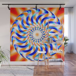 Nova Cage Abstract Wall Mural