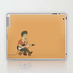Muddy Waters riding a small bicycle Laptop & iPad Skin