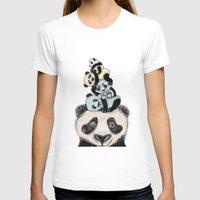 pandas T-shirts featuring pandas by Svenningsenmoller Design