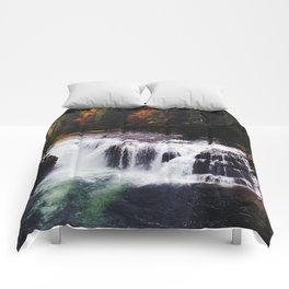 Lower Lewis River Falls #1 Comforters