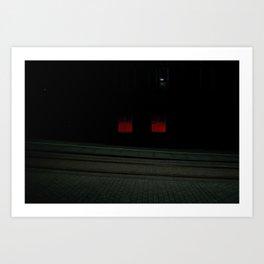 Surface Tension: Edinburgh Centre Art Print