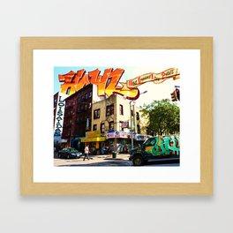 Living in Loisaida - New York Framed Art Print