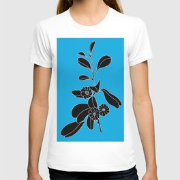 Goat's Foot (also known as Mauve Convolvulus, Beach Potato Vine, and Morning Gl - Ipomoea pes-caprae T-shirt