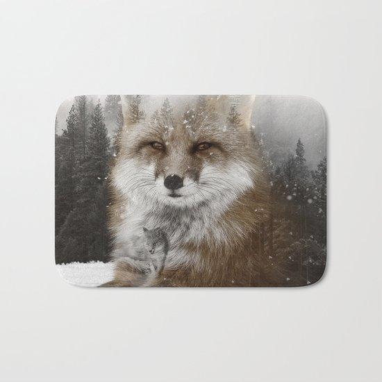 Fox Stare Bath Mat