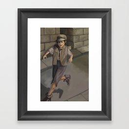 Gamin Framed Art Print