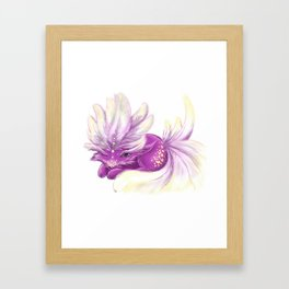 Cute little Fincy fox Framed Art Print