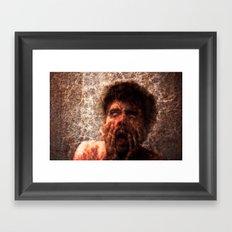 Explicit - Fear Framed Art Print