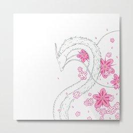 Kohaku-gawa Metal Print
