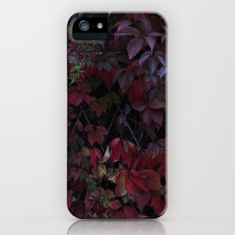Girlish grapes. iPhone Case