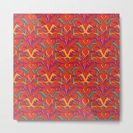 Tribal Pattern 2 Metal Print