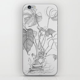Monstera. Living iPhone Skin