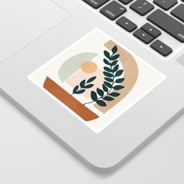 Soft Shapes III Sticker