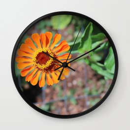 Flower No 5 Wall Clock