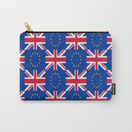 Mix of flag: UE and UK Carry-All Pouch